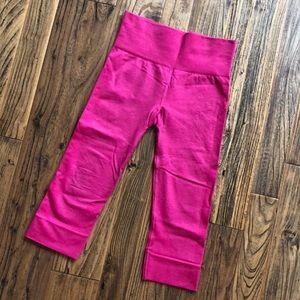 Lululemon // Hot Pink Crop Tights
